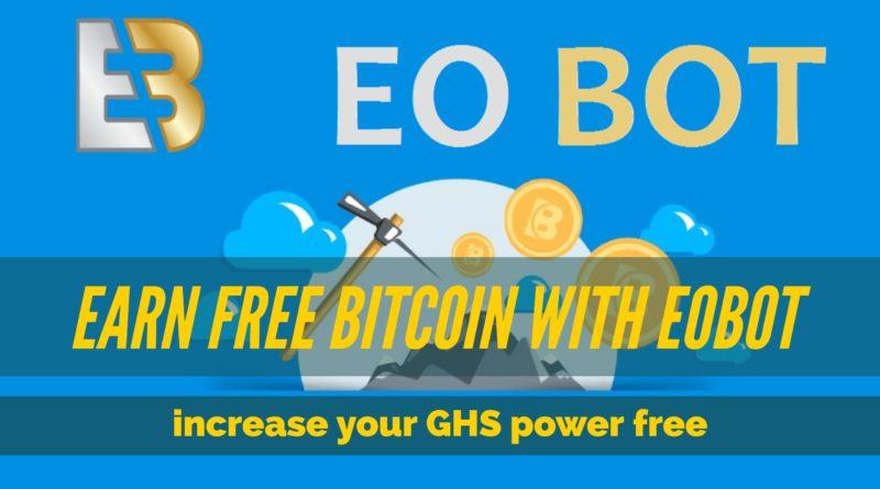 Free Strategi  dan Step Step Mendapatkan Bitcoin Dengan cepat dan Otomatis Di Eobot.