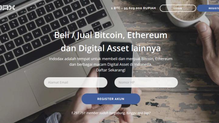 Indodax Pasar Jual Beli Bitcoin Indonesia